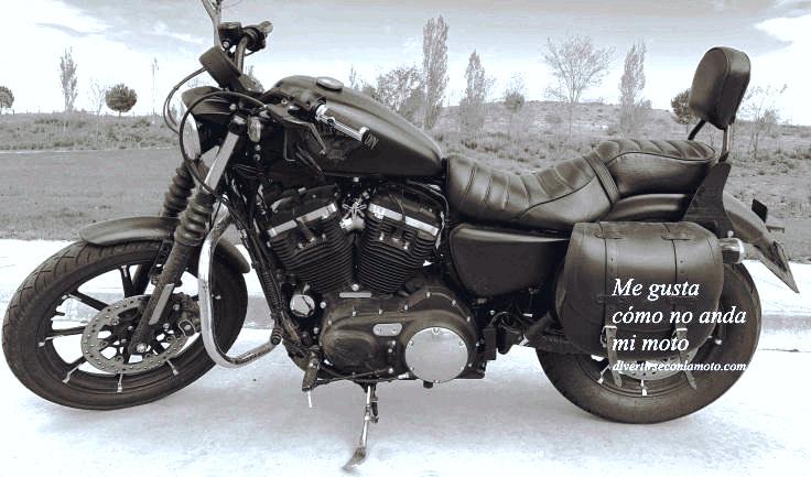 no anda mi moto